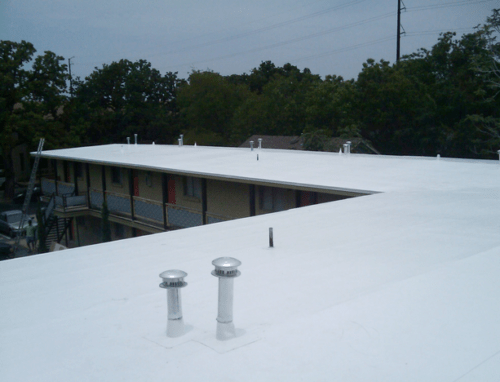 Roof Replacement - PVC Roof