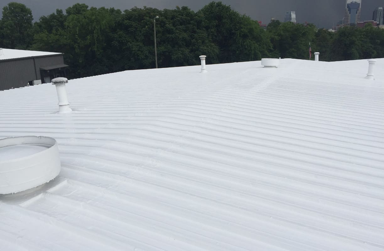 high solids silicone roof coating