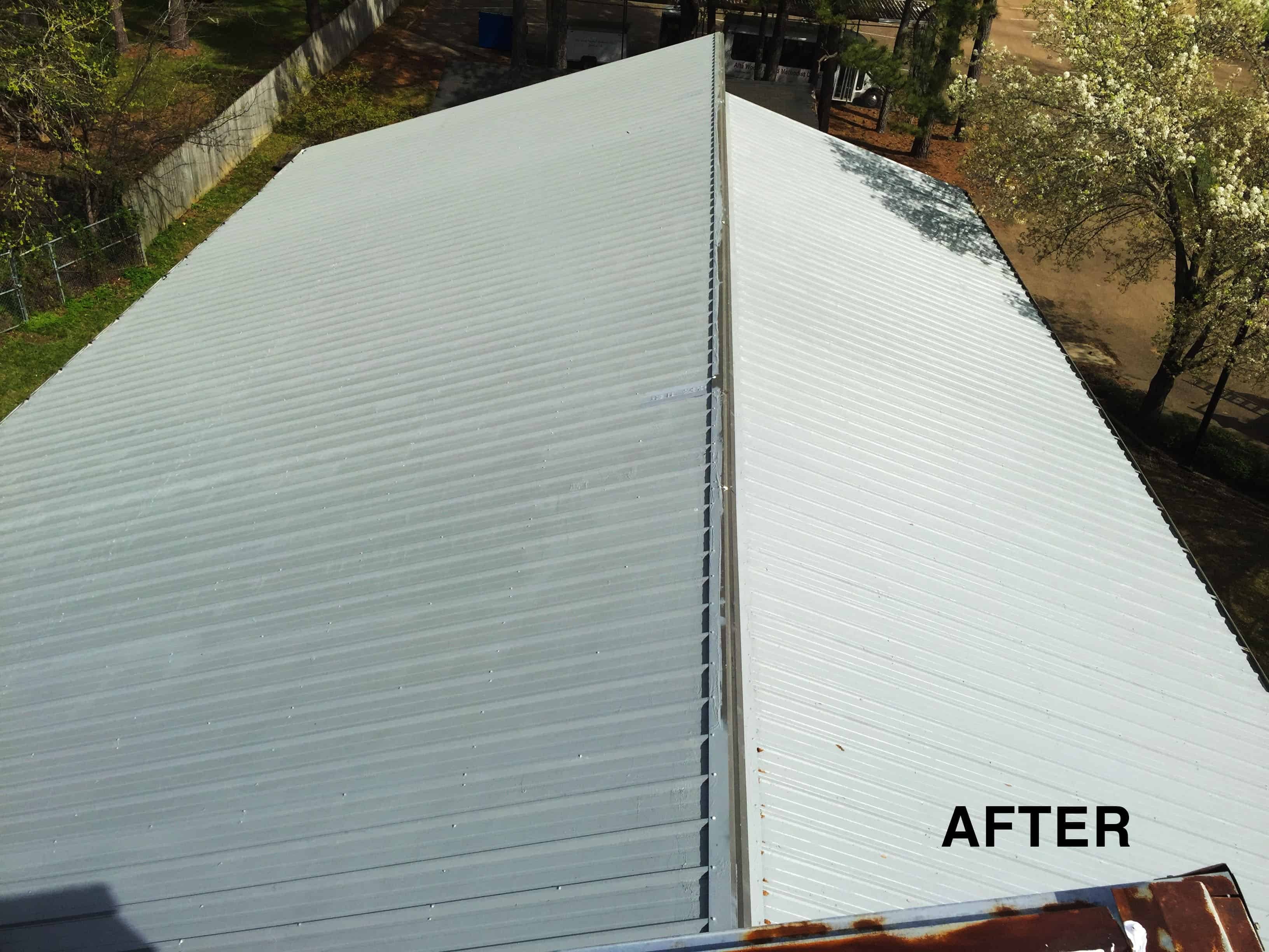 Metal Roof, Silicon Coating
