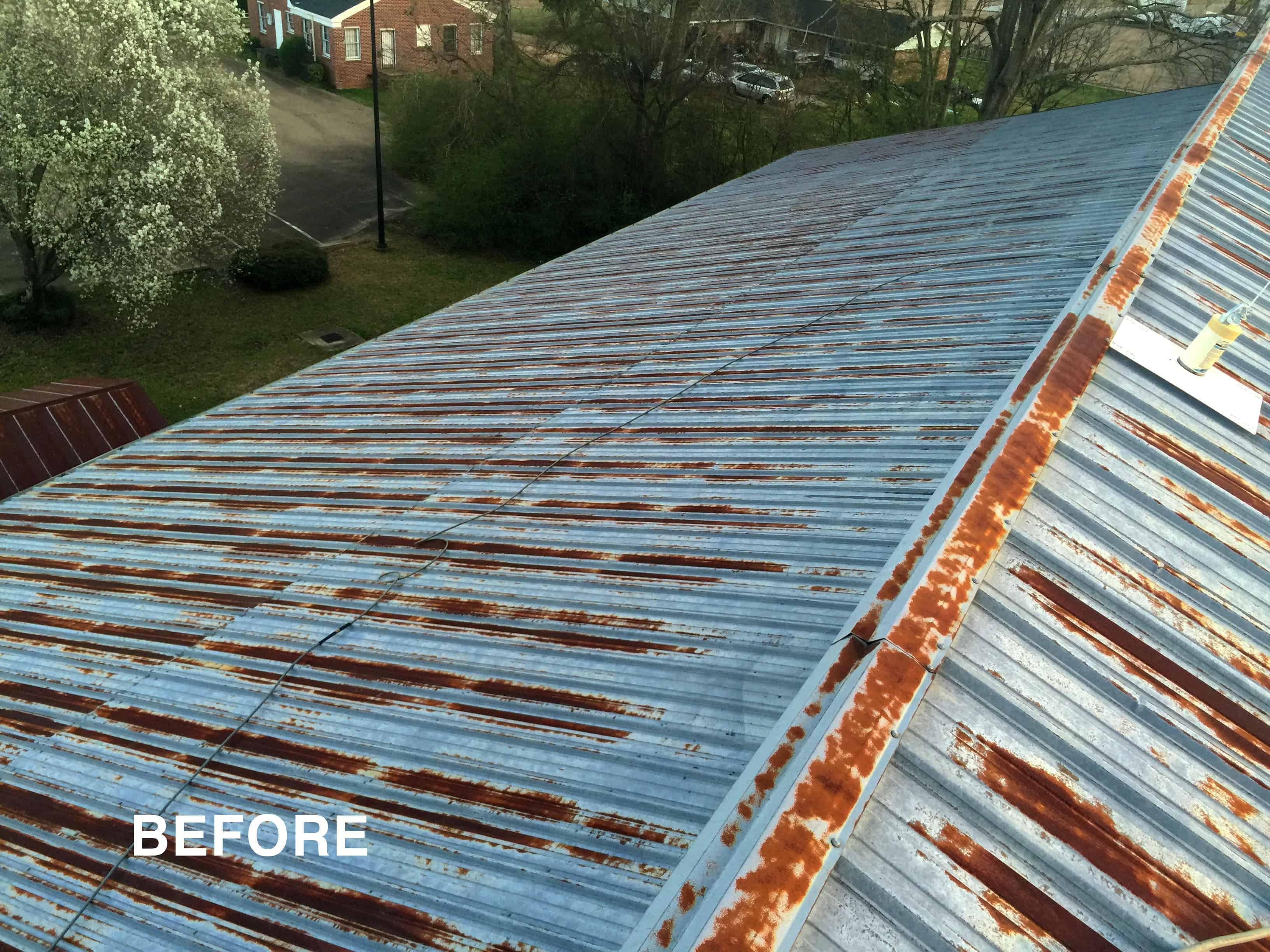 roof rust repair