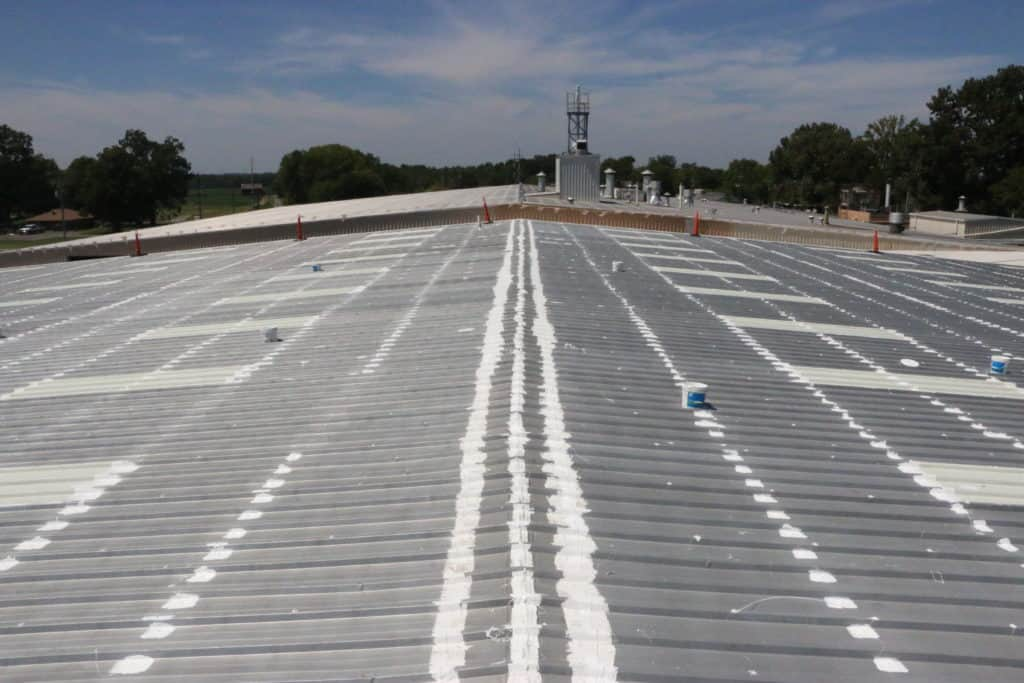 Commercial Roof Coating Solutions Nashville Amp Johnson