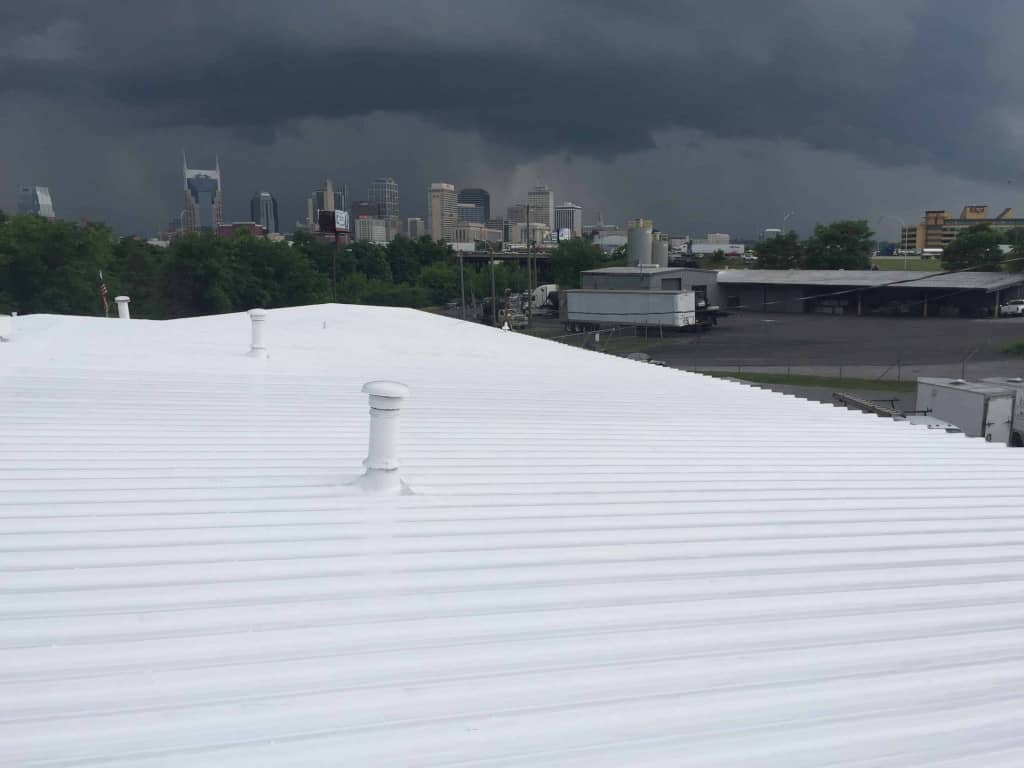 ge high solids silicone roof coating